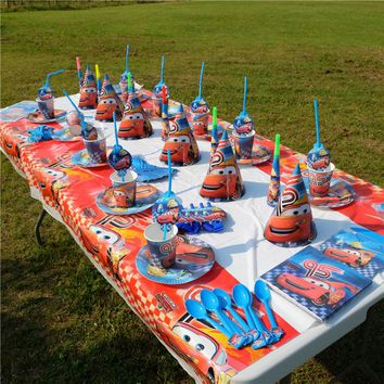 Cars theme Kids Birthday Party Decorations