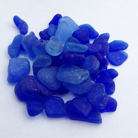 Bulk Beach Glass Bulk Sea Glass Tiny Cobalt Blue Tinies