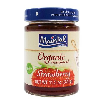 Maintal Organic Strawberry Fruit Spread, 11.2 oz (320 g)