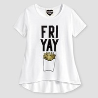 Girls' FRI YAY Graphic Tee Shirt