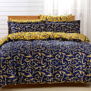 Duvet Cover Sheets Set, Dolce Mela Paros Queen Size Bedding
