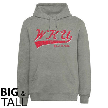 Western Kentucky Hilltoppers All-American Primary Big and Tall Sweatshirt - Ash