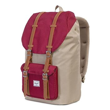 8385403bcdf Little America Backpack in Brindle and Windsor Wine by Herschel Supply Co.