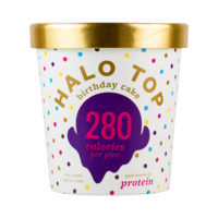 Halo Top Birthday Cake Ice Cream, 1 pint - Walmart.com