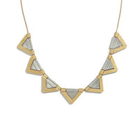 Chevron Necklace - necklaces - Women's JEWELRY - Madewell