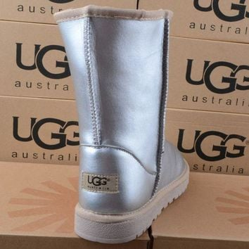 """UGG"" Women male Fashion Wool Snow Boots G"