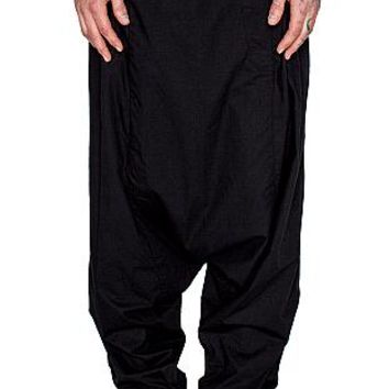 BARBARA I GONGINI - MENS - EXTRA DROP PANTS - BLACK : Well Connected