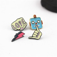 Enameled Lapel Pins - New for Summer - Free Shipping