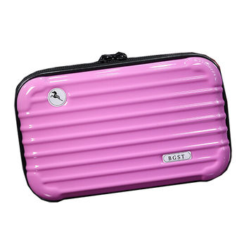 Personalized Makeup Bags Travel Cosmetic Bag Cosmetic Pouches, Light Pink
