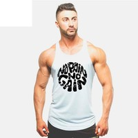 Men's No Pain No Gain Workout Tanktop