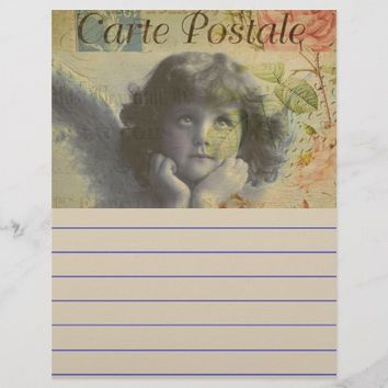 French Postcard Flyer