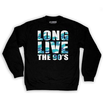 Function Long Live The 90's Men's Fashion Crew Neck Sweatshirt