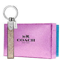 COACH Glitter Key Chain Fob