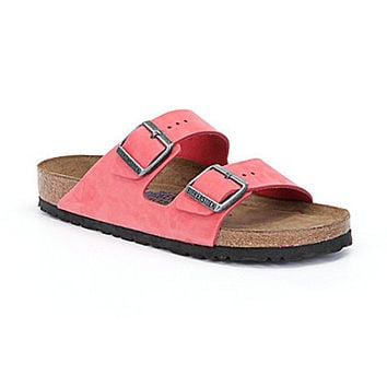 Birkenstock Women's Arizona Soft Footbed Sandals - Tea Rose