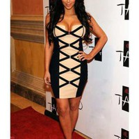 Kim Kardashian in T037E  Dress