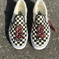 Vans Classics Checkerboard Slip-On Gucci Snake Sneaker