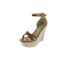 Pour La Victoire Womens Bonita Textured Striped Wedges