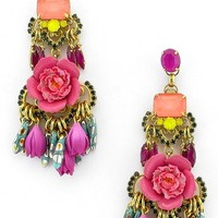 Elizabeth Cole Burke Floral Drop Earrings | Nordstrom