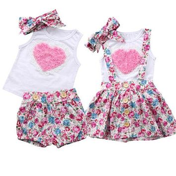 Sister Hearts Matching Outfits