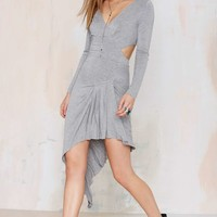 All Night Long Asymmetrical Dress