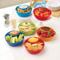 Set of 6 Snack and Dip Bowls
