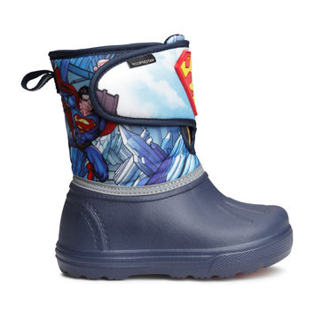 H&M - Winter Boots - Dark blue/Superman - Kids