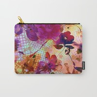 flowers and light Carry-All Pouch by clemm