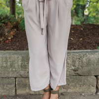 Flirting With Fate Pants - Cream