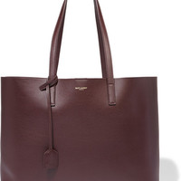 Saint Laurent - Shopping large leather tote