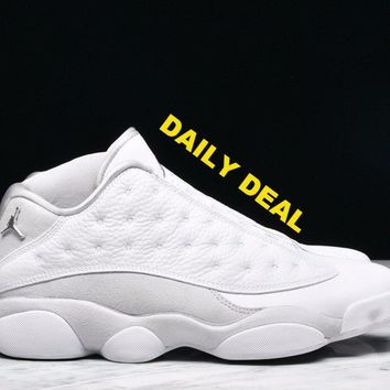 "AIR JORDAN 13 RETRO LOW ""PURE MONEY"""