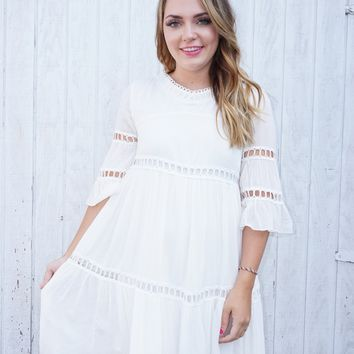 The Garden Party Dress - Ivory