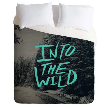Leah Flores Into The Wild 3 Duvet Cover