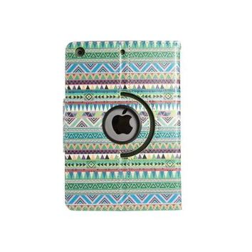ULAK iPad Mini Case Rotating Multi-Angle Stand Smart Case Cover for Apple iPad mini 3 / iPad mini 2 / iPad mini (Green Tribal) - Walmart.com