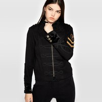 Calvary Twill Jacket With Embellishments