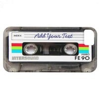Funny Vintage 80s Retro Music Cassette Tape iPhone 5 Cover from Zazzle.com
