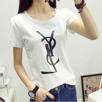 DCCKHV3 shosouvenir : YSL Tommy men and women classic tee shirt T-shirt