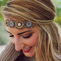 Mystical Medallion Headband