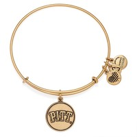 University Of Pittsburgh Logo Charm Bangle