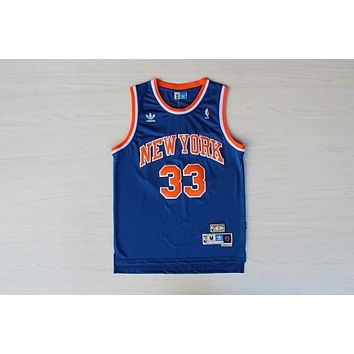 New York Knicks #33 Patrick Ewing Swingman Jersey