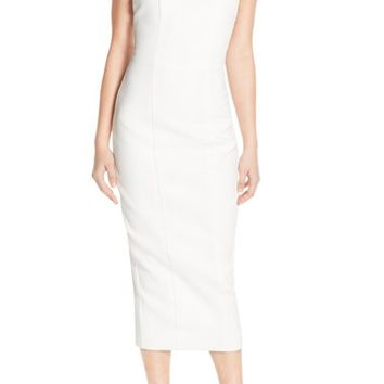 Misha Collection 'Terra' Halter Neck Midi Dress | Nordstrom