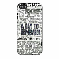 a day to remember collage art cases for iphone se 5 5s 5c 4 4s 6 6s plus