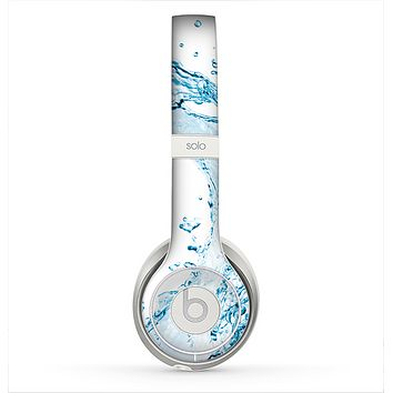 The Water Splashing Wave Skin for the Beats by Dre Solo 2 Headphones