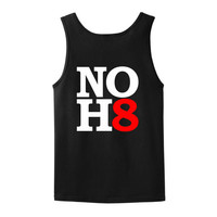 No Hate Tank Top T-SHIRT 2200 Marriage Lesbian LGBT Rainbow Pride Pro Born Gay WGL-09