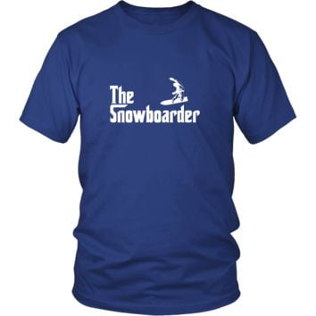 Snowboarding Shirt - The Snowboarder Hobby Gift