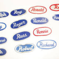 Vintage Name Patches