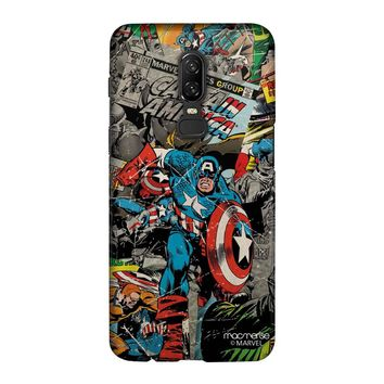Comic Captain America - Sublime Case for OnePlus 6
