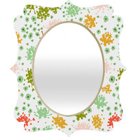 Heather Dutton Sweet Tea Quatrefoil Mirror
