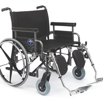 "WHEELCHAIR SHUTTLE BARIATRIC,26""RDLA,ELR"