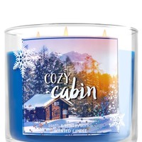 3-Wick Candle Cozy Cabin