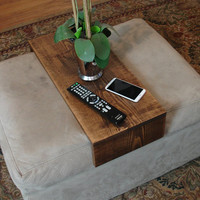 Simply Ottoman Cushion Wrap Tray Table